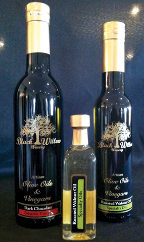 olive oil and vineagrs
