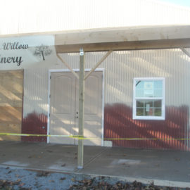 Black Willow Winery – Finishing Construction 2011