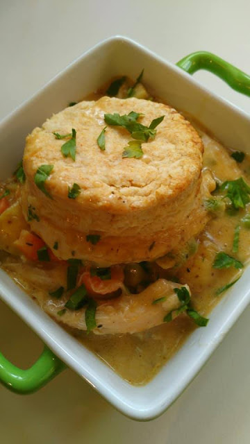 Mushroom-Sage Infused Chicken Pot Pie